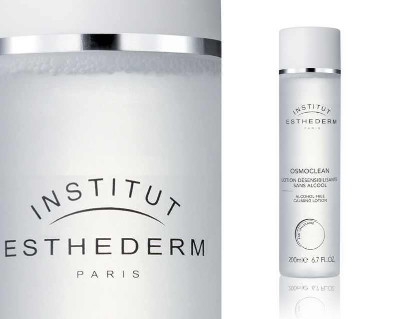 Institut Esthederm OSMOCLEAN - ALCOHOL FREE CALMING LOTION Zklidňující čistící tonikum 200 ml Institut Esthederm Paris