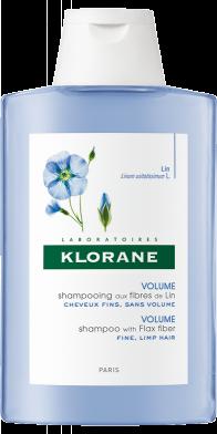 Klorane LEN šampon s lněnými vlákny 200 ml Pierre Fabre