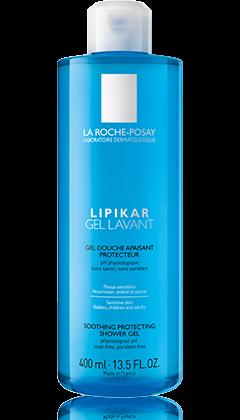 La Roche-Posay LIPIKAR GEL LAVANT Zklidňující a ochranný sprchový gel 750 ml