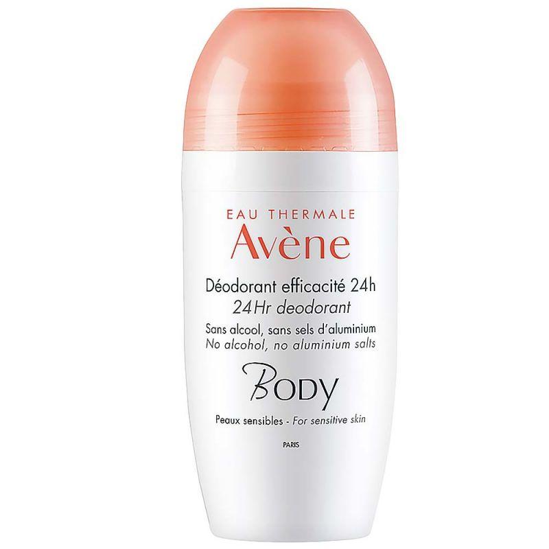 Avène BODY 24h Deodorant Roll-on 50ml Pierre Fabre