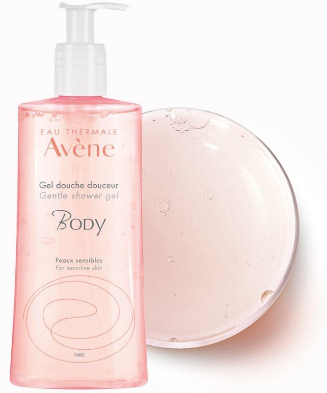 Avène BODY Jemný sprchový gel na obličej a tělo 500ml Pierre Fabre
