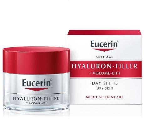 Eucerin HYALURON-FILLER +VOLUME-LIFT denní krém pro suchou pleť SPF 15 50ml