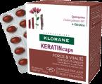 Klorane CHININ KERATINcaps 3x30 tobolek