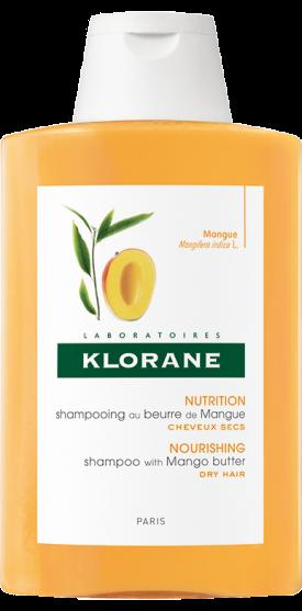 Klorane MANGO Šampon s mangovým máslem pro suché vlasy 400ml Pierre Fabre