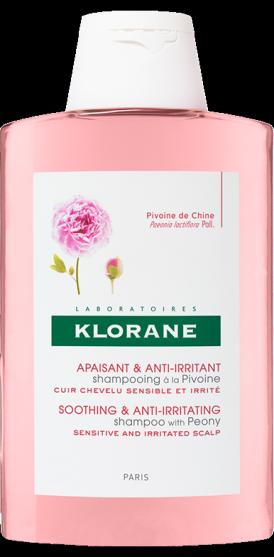 Klorane PIVOŇKA Zklidňující šampon s výtažkem z pivoňky 400ml Pierre Fabre