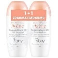 Avène BODY 24h Deodorant Roll-on 50ml 1+1 ZDARMA