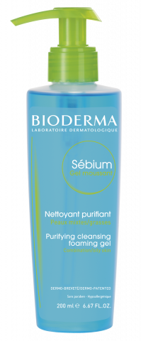 Bioderma SÉBIUM Moussant pěnivý gel 200ml