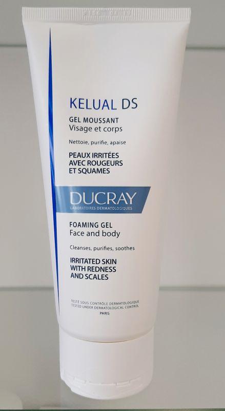 Ducray KELUAL DS Pěnivý gel na Obličej a Tělo 200 ml Pierre Fabre