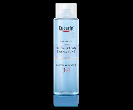 Eucerin DermatoCLEAN [HYALURON] Čisticí micelární voda 3v1 400ml