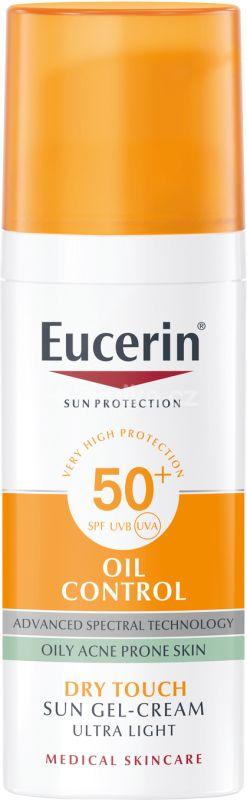 Eucerin SUN Krémový Gel na obličej OIL CONTROL SPF 50+, 50ml