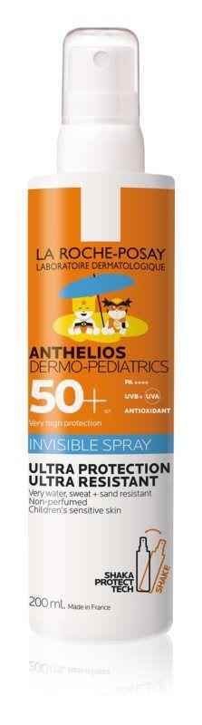 La Roche-Posay ANTHELIOS PRO DĚTI SPREJ dermo-pediatrics SPF 50+, 200 ml