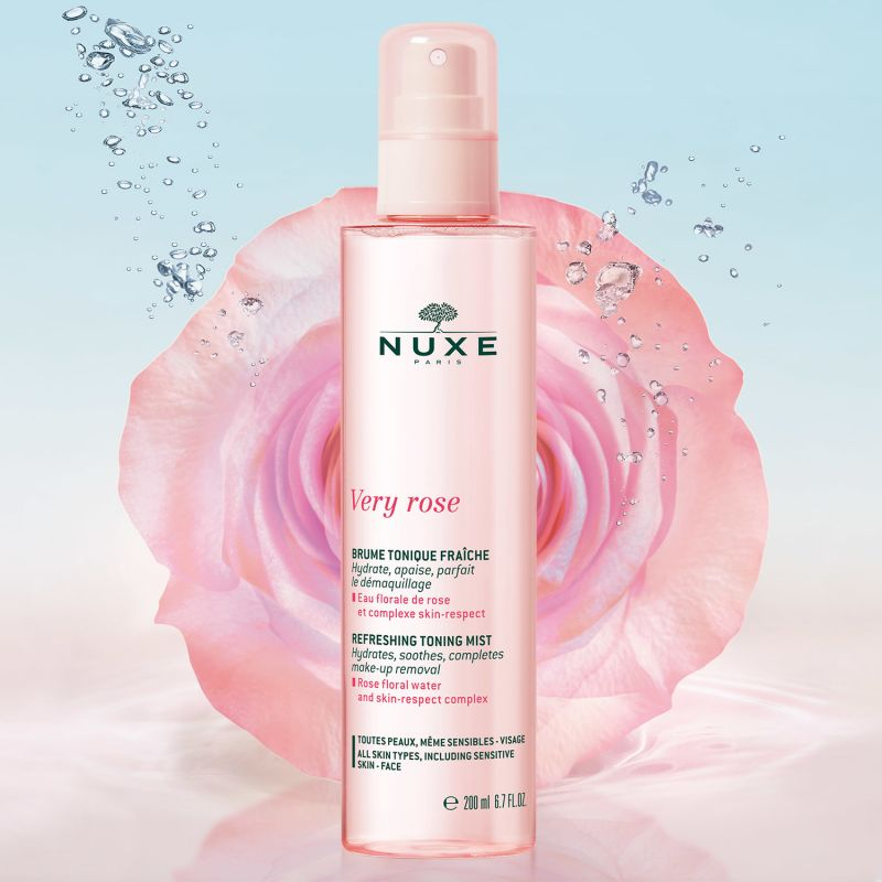 Nuxe VERY ROSE Osvěžující Tonizační mlha 200 ml