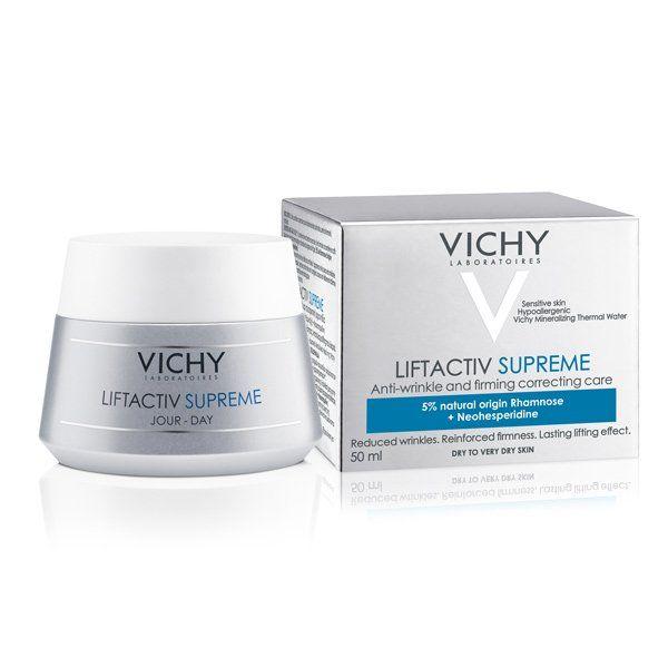Vichy LIFTACTIV SUPREME Denní krém proti vráskám pro suchou pleť 50ml